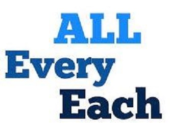 Every x Each x All