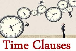 Você sabe o que são time clauses?