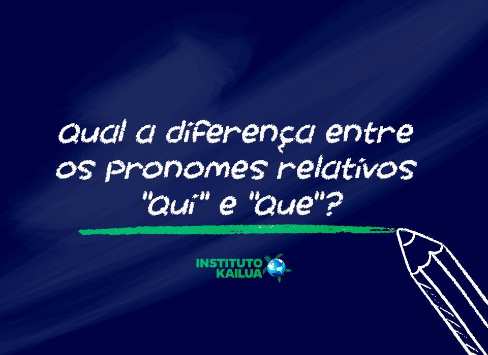 Qui e que: aprenda esses pronomes relativos em francês